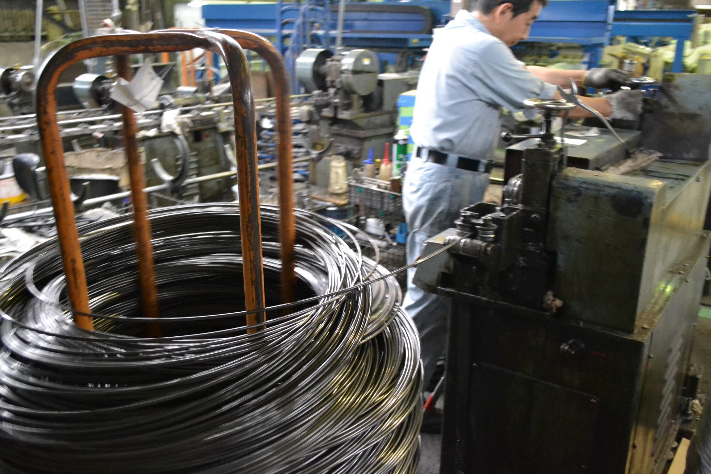 材料選定・直線工程